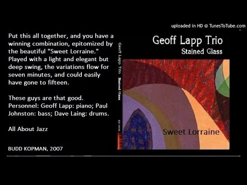 Geoff Lapp Trio- Sweet Lorraine (Stained Glass)