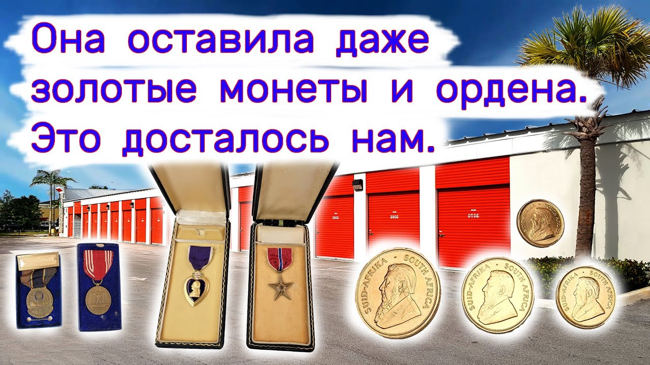 Нашли золотые монеты, ордена, фототехнику. Повезло.