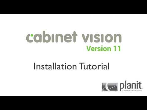 Cabinet Vision Version 11 Installation Tutorial