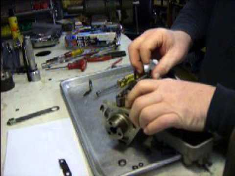 Top gasket reseal Cav Injector Pump YouTube
