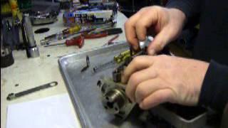 Top gasket reseal  Cav- Injector Pump