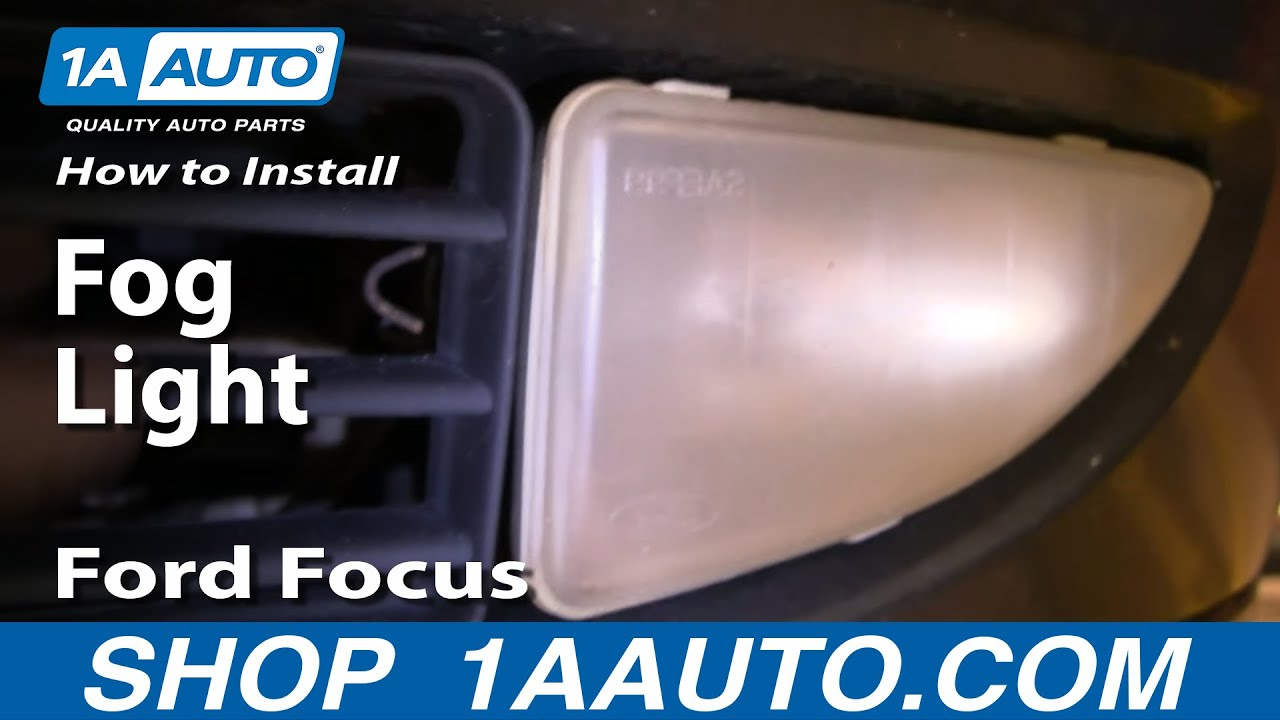 how to replace repair install fog light on ford focus 00 04 1aauto com [ 1280 x 720 Pixel ]