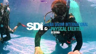 Physical Exertion in Diving