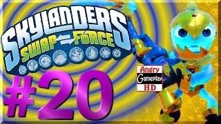 [HD] PS3 Skylanders Swap Force Chapter 7 Hard Difficulty Walkthrough Part 2 of 3  W#20