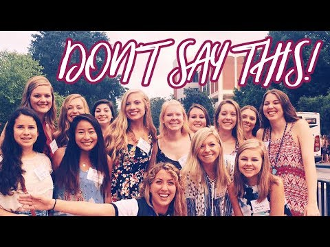 What NOT To Say During Sorority Rush! | Lottie Smalley