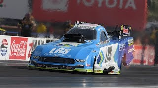 Tim Wilkerson rockets to the top in qualifying