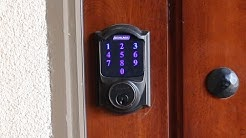 Schlage Touchscreen Z-Wave Deadbolt Review