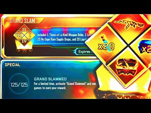 """OPENING """"GRAND SLAM"""" CONTRACT RIGHT NOW IN BLACK OPS 3!"""