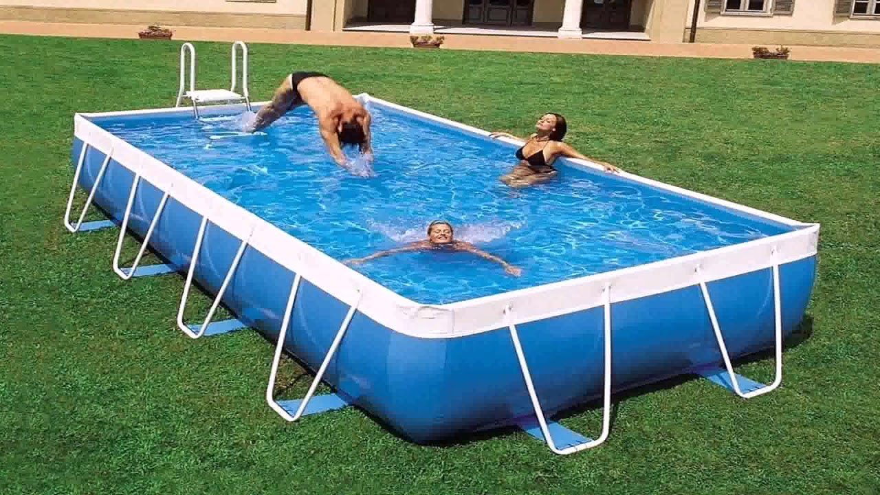Above Ground Swimming Pools For Sale Cheap - YouTube
