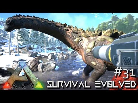 ARK: ANNUNAKI GENESIS - TITANOSAUR TAME SOLO !!! S2E31 (ARK SURVIVAL EVOLVED GAMEPLAY)