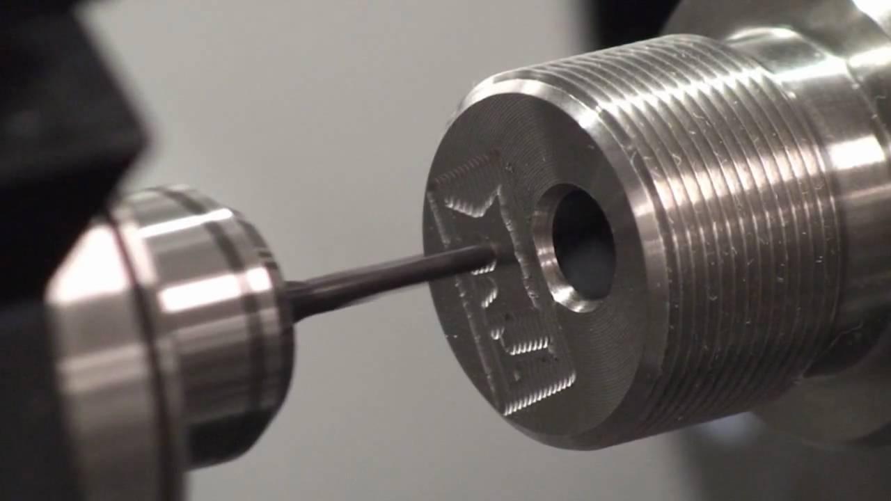 Hochfrequenz Spindel Mit 60 000 1 Min Auf Einer Cnc Drehmaschine