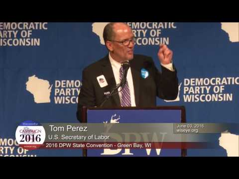 Morning Minute: U.S. Secretary of Labor Tom Perez