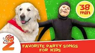Favorite Party Songs for Kids | Essential Kids Songs Collection | Zouzounia TV