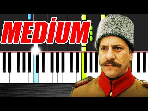 Mehmetçik Kut'ül Amare   Jenerik Müziği - Piano Tutorial by VN