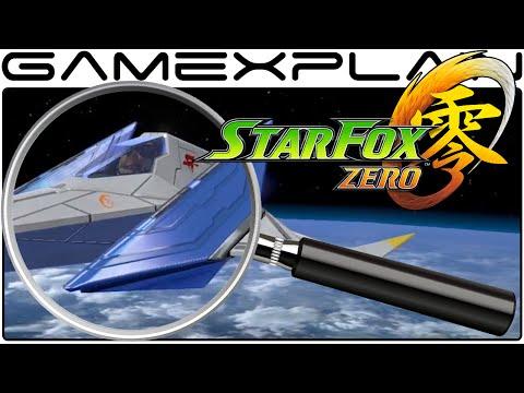 Star Fox Zero - E3 Trailer & Gameplay Analysis (Secrets & Hidden Details)
