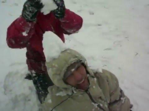 Coro Espiritu Santo - andando en la nieve