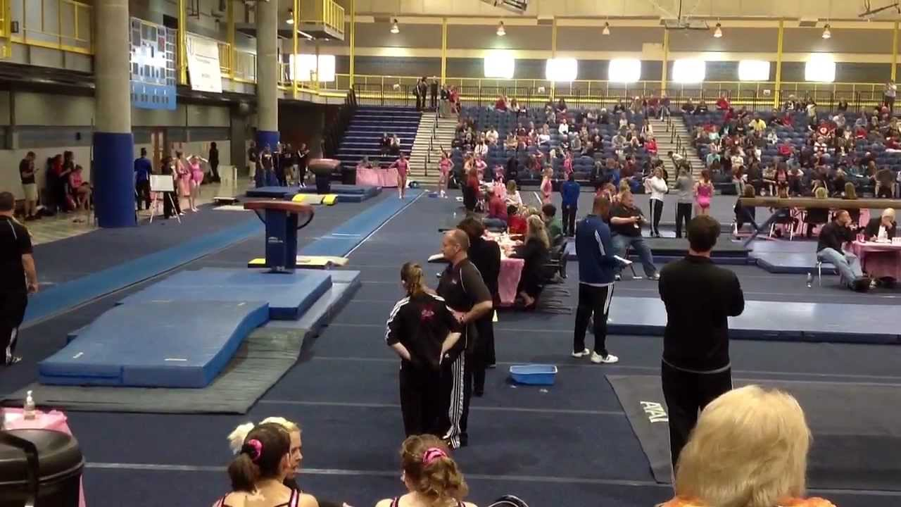 rowland/ballard gymnast hannah moore - youtube