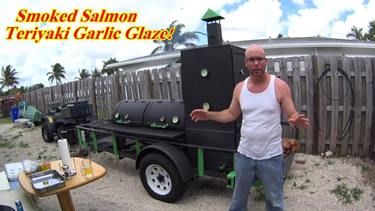 Download How to Smoke Salmon,Teriyaki Garlic Salmon on the Smoker