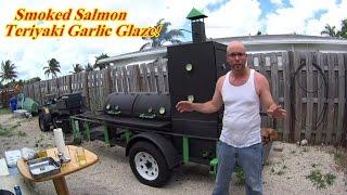 How To Smoke Salmon,teriyaki Garlic Salmon On The Smoker