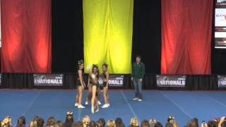 University of Regina Cheerleading - PCA UONCC 2011 - Collegiate Group Stunt - National Champs