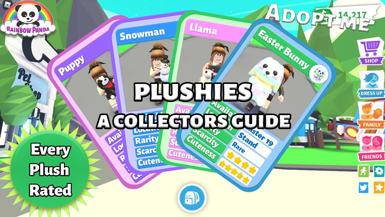 Adopt Me Plush Collectors Guide - Every Plushie Rated