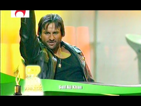 Saif Ali Khan Live Performance (Nachle Ve, Salaam Namaste, Dhoom Machale ) @ IIFA Awards 2007 1080p