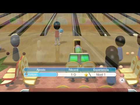 Wii Sports Club - Bowling: Training