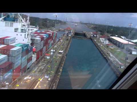 Gatun Locks at Panama Canal