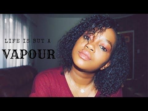 Life is but a vapour   Lisa M