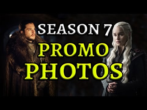 NEW Season 7 PROMO Pics Released! (Game of Thrones)