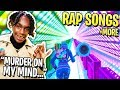 We RECREATED Popular Rap Songs Using Music Blocks In Fortnite! (Murder On My Mind, Robbery & MORE) Mp3
