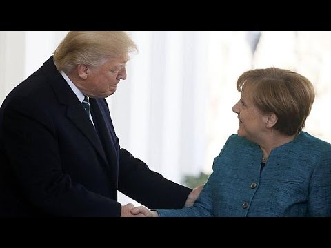 Thumbnail: Merkel meets Trump at the White House