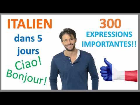 Apprenez l'italien en 5 jours - Conversation pour les débutants