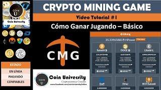Cómo ganar Bitcoin, Doge, Litecoin Jugando | Crypto mining game | Vídeo Tutorial #1
