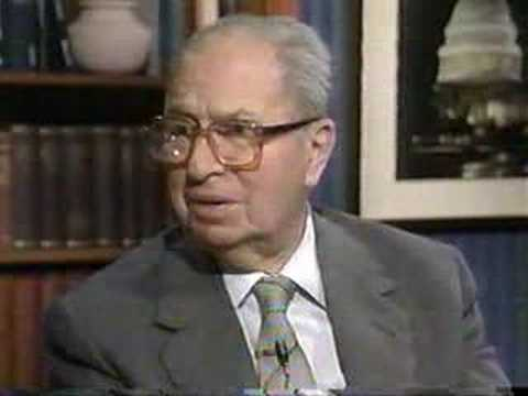 Mortimer J Adler in 1990 part 2/3
