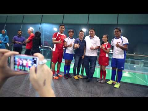 Dreamatron & Singapore Hockey Dream Partnership
