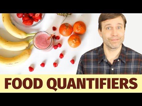 QUANTIFIERS For Non-count Food Nouns 🍞🍕🍷| Grammar Quiz