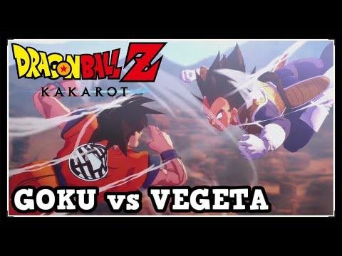 Dragon Ball Z Kakarot Goku vs Vegeta Boss Fight (Saiyan Saga)