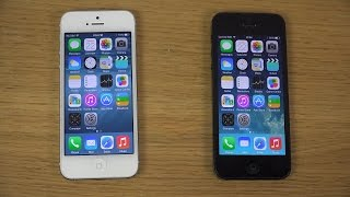 iPhone 5 iOS 8 Beta 4 vs. iPhone 5 iOS 7.1.2 - WHICH IS FASTER?