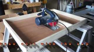 Circular saw to table saw conversion, by c.u.jmy