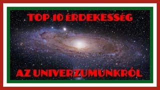 Nemzeti |Top 10| Érdekesség az univerzumunkról