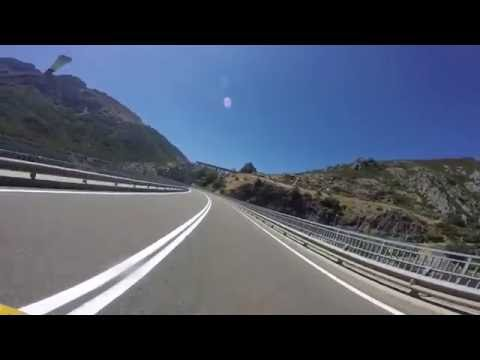 GREAT MOTORBIKE ROADS Picos de Europa (Spain) N621 Riaño-Cistierna