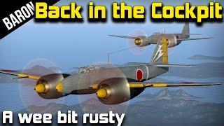 War Thunder Gameplay - Back in the Cockpit!  Flying the Honorable Japanese w/ ArgyleAlligator!