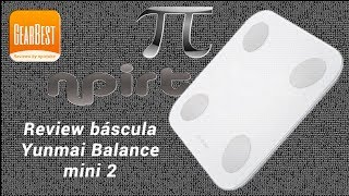 Review báscula Yunmai Balance Mini2