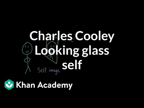 Charles Cooley- Looking glass self | Individuals and Society | MCAT | Khan Academy