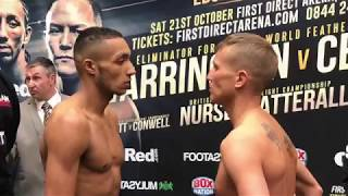 English Title on the line! Zelfa Barrett comes face-to-face with Chris Conwell