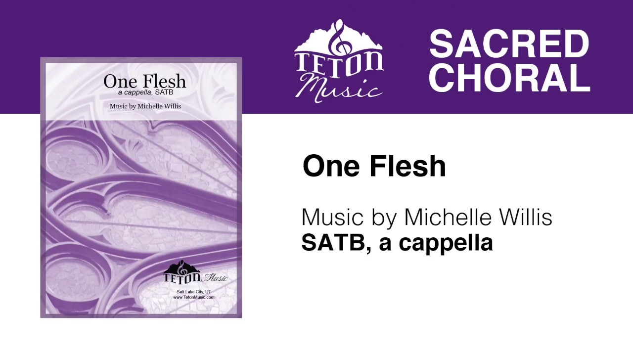 One Flesh SATB Wedding Music