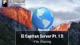 El Capitan Server Part 13: File Sharing