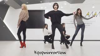 (mirrored & 50% slowed) I love you 'EXID' Dance Practice Choreography