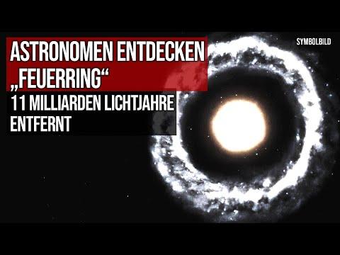 """Astronomen entdecken """"Feuerring"""" - 11 Milliarden Lichtjahre entfernt"""